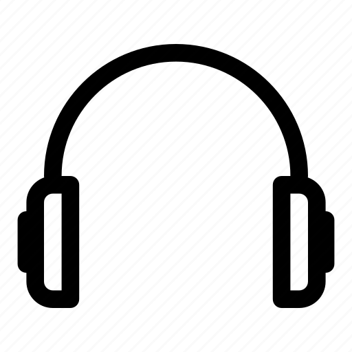 audio, earphones, headphones, headset, multimedia, music, sound icon