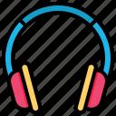 headset, headphone, earphone, earbuds, music, audio