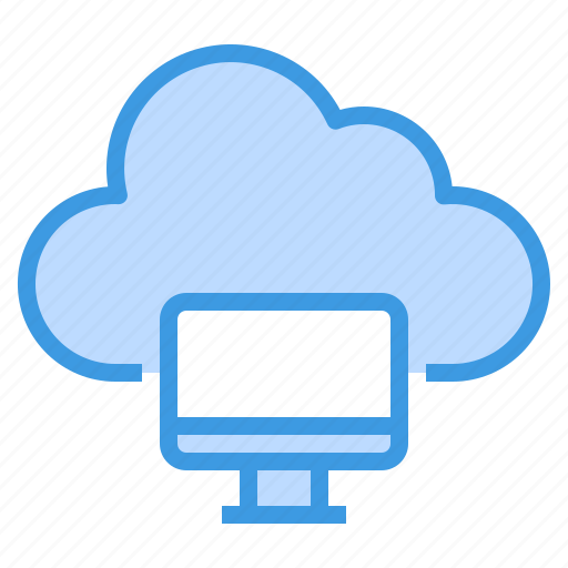 cloud, communication, computer, computing, internet, network, server icon