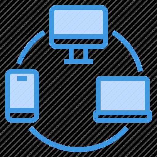 communication, computer, internet, network, server, sharing icon