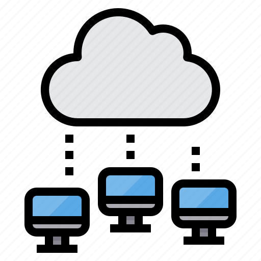 Cloud, communication, computer, computing, internet, network, server icon - Download on Iconfinder