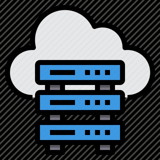 Cloud, communication, computer, internet, network, server icon - Download on Iconfinder