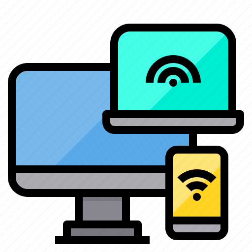 Communication, computer, connecting, internet, network, server, wifi icon - Download on Iconfinder