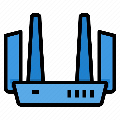 communication, computer, internet, network, router, server icon