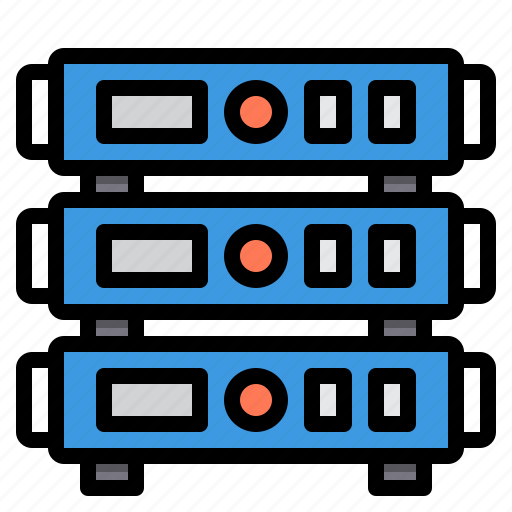 communication, computer, internet, network, server icon