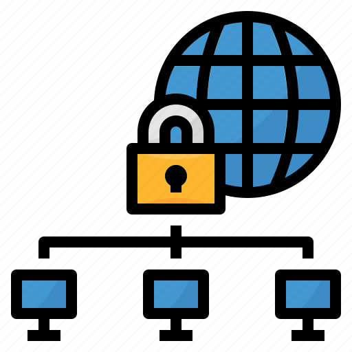 block, computer, protect, safe, safety, security, vpn icon