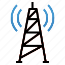 antenna, radio, signal, tower, wifi, wireless icon