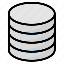 data, database, harddrive, hardest icon