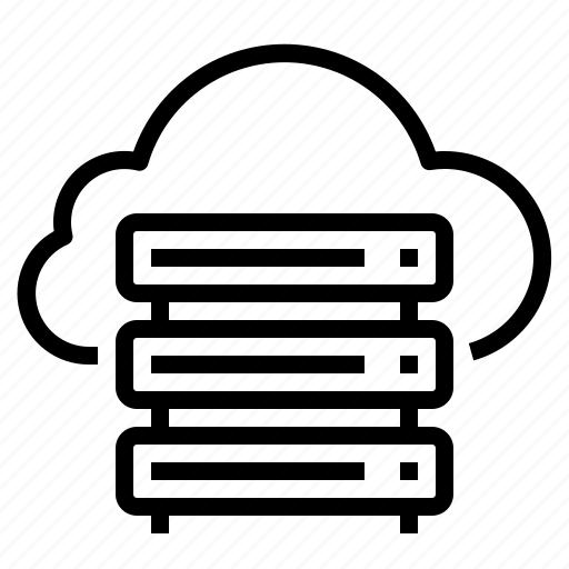cloud, computer, computing, device, server icon