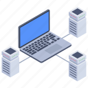data center, data center network, data hosting, data network technology, database icon