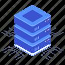 data center, data hosting, database, home server, server room
