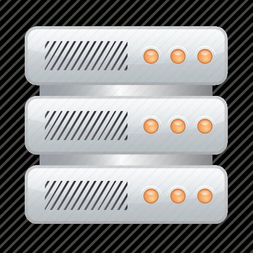 data, documents, folder, server, storage icon