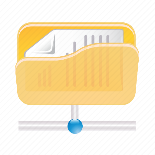 data, document, files, folder, paper, storage icon