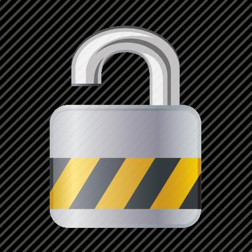 lock, open, password, protection, safe, unlock icon