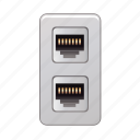 in, plug, electric, electrical, power icon