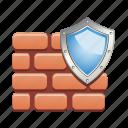 wall, shield, guard, protection, security, antivirus