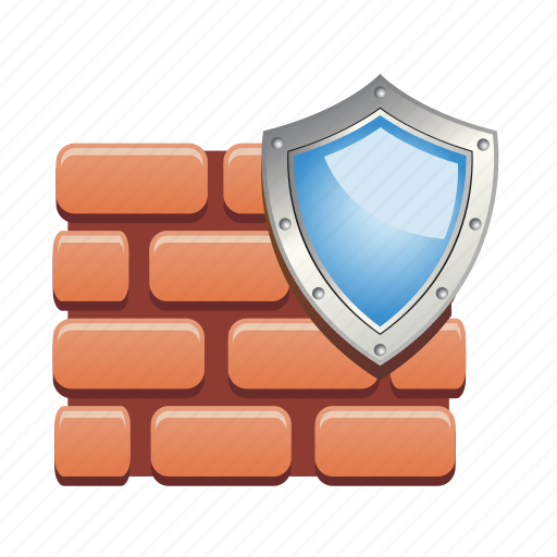 antivirus, guard, protection, security, shield, wall icon