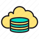 backup, cloud, comuter, data, network, ui icon
