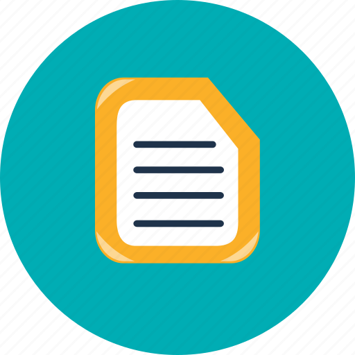 document, documents, file, files, format, sheet, text icon