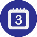 calendar, calender, date, event, month, schedule, timetable icon