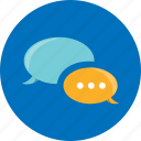 bubble, chat, chatting, comments, conversation, message, sms icon