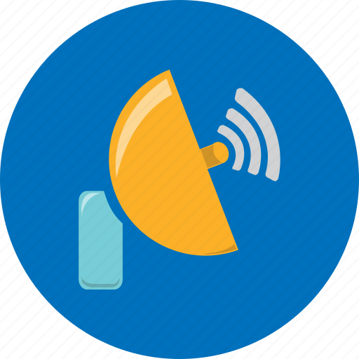 antenna, communication, dish, radar, satellite, technology, web icon