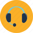 communication, headphone, headset, microphone, music, speech, voice icon