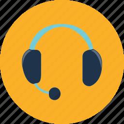 communication, headphone, headset, microphone, music, speech, voice icon