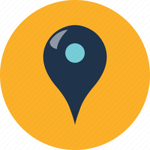 direction, location, map, move, navigation, pin, pointer icon