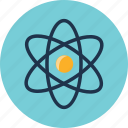 astronomy, atom, orbit, science, solar, space, universe icon