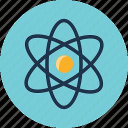 astronomy, atom, orbit, science, solar, space, universe icon