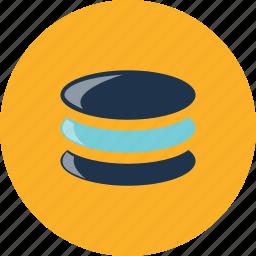 computing, database, disk, drive, hosting, server, storage icon