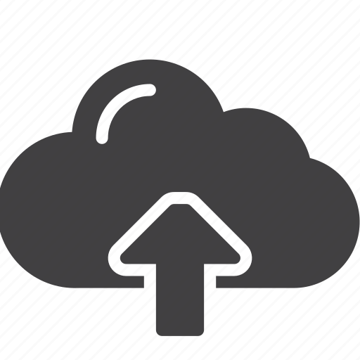 arrow up, cloud, upload icon