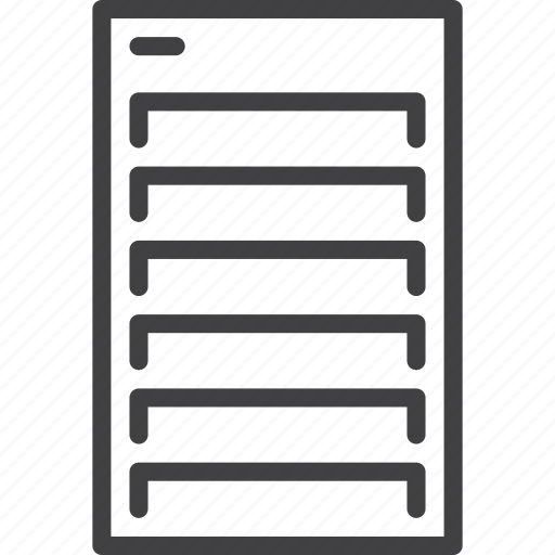 computer, data, database, network, server icon