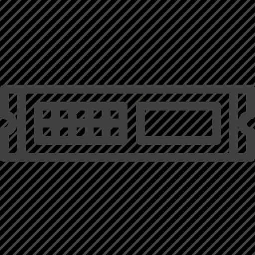 Computer Rack Server Unit Icon