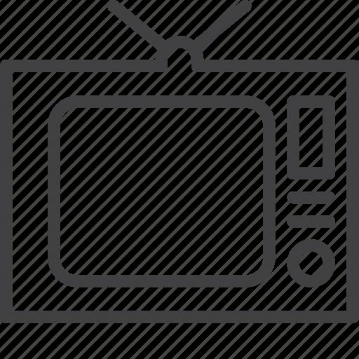 old, tecevision, tv icon