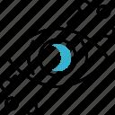 blockchain, eye, iris, scanner