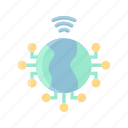 browser, connection, internet, network, online, web, website icon