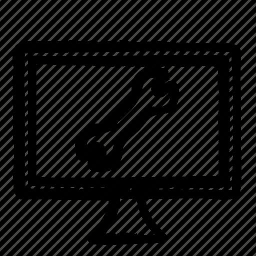 computer, configuration, hardware, programming, service, webdesign icon
