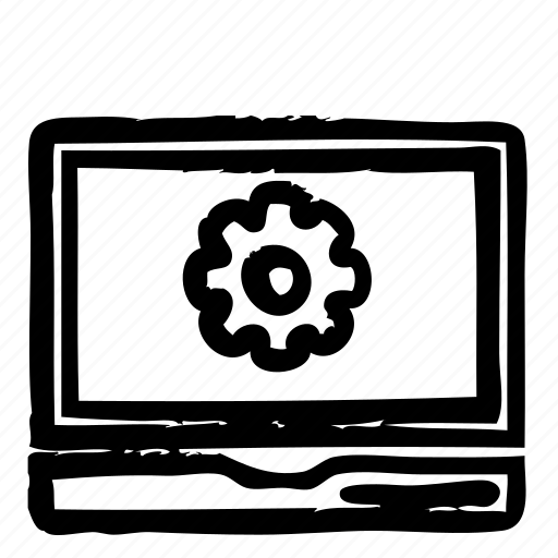 computer, hardware, notebook, programming, service, settings, webdesign icon