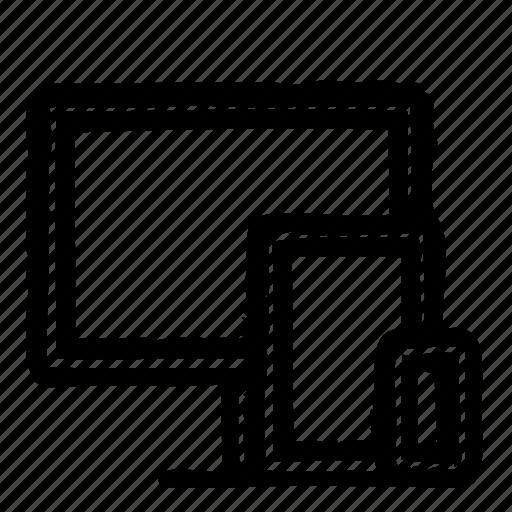 Computer, hardware, programming, responsive, service, webdesign icon - Download on Iconfinder