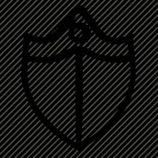 computer, hardware, programming, service, shield, webdesign icon