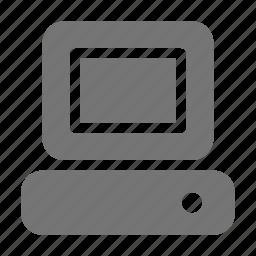 computer, monitor, pc icon