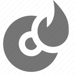 burn, disc icon