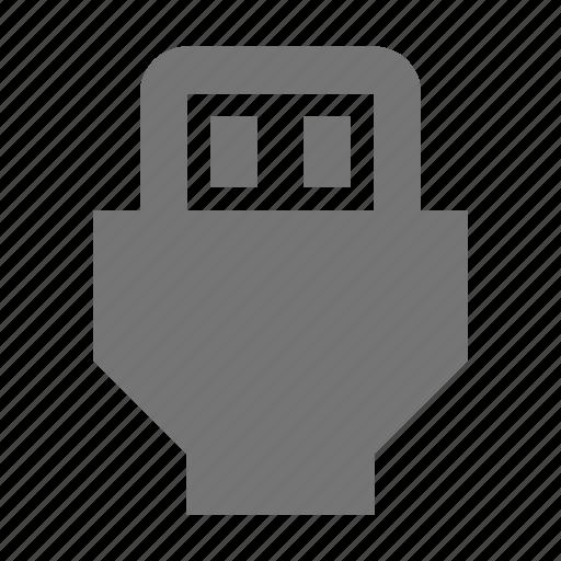 plug, usb icon
