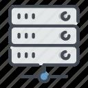 archive, data, database, it, server, storage, technology icon
