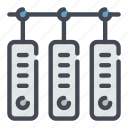 archive, connection, data, database, server, storage, technology