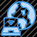 cloud, computer, internet, security, server, web, wide icon
