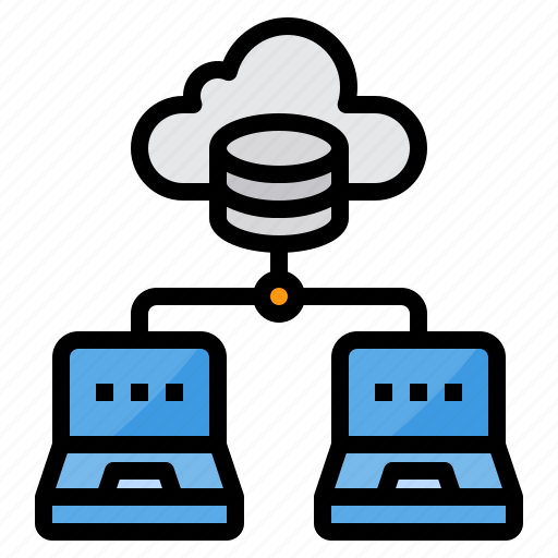 cloud, computer, data, security, server, technology icon