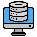 cloud, computer, database, security, server, technology icon